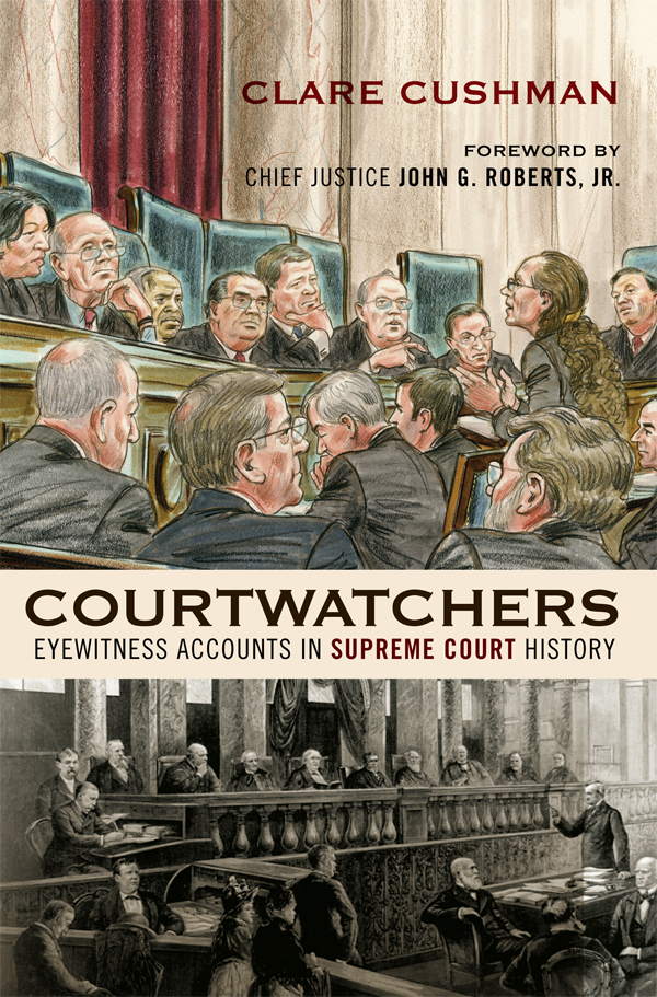 Courtwatchers By: Clare Cushman