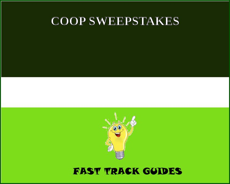 CO-OP SWEEPSTAKES