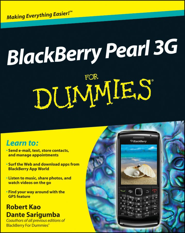 BlackBerry Pearl 3G For Dummies