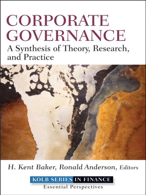 Corporate Governance By: