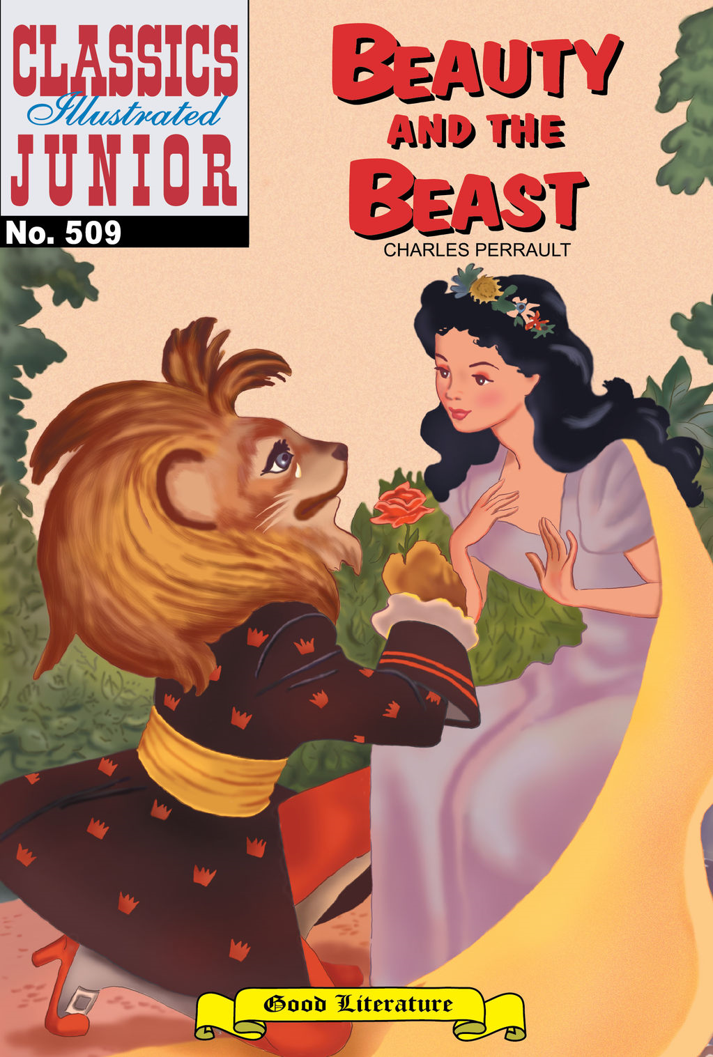 Beauty and the Beast - Classics Illustrated Junior #509
