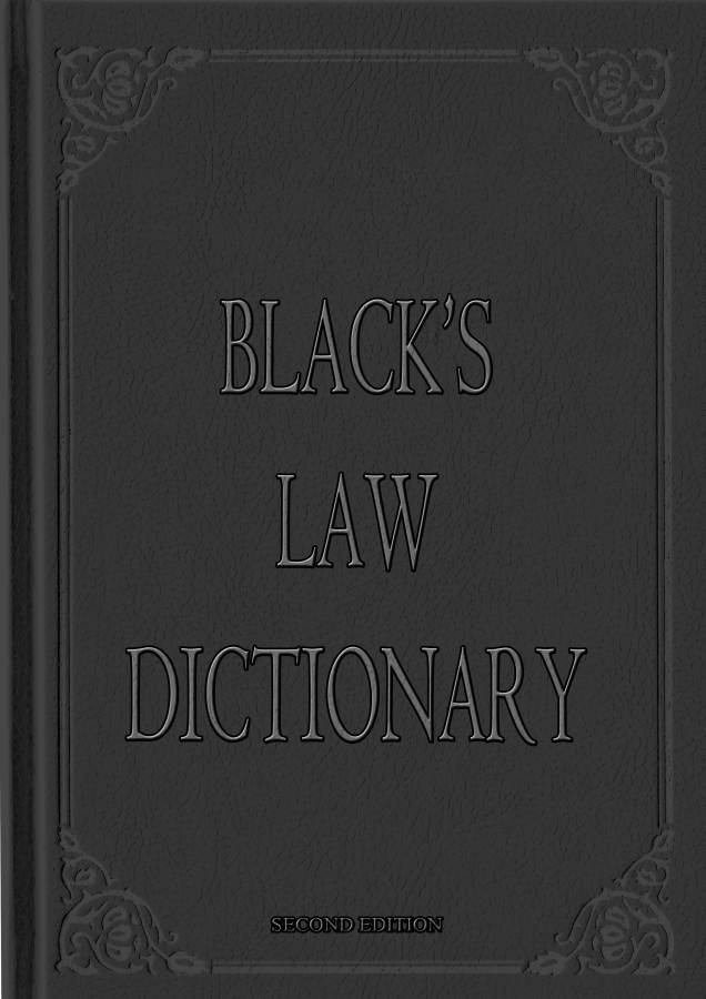 Black's Law Dictionary Second Edition