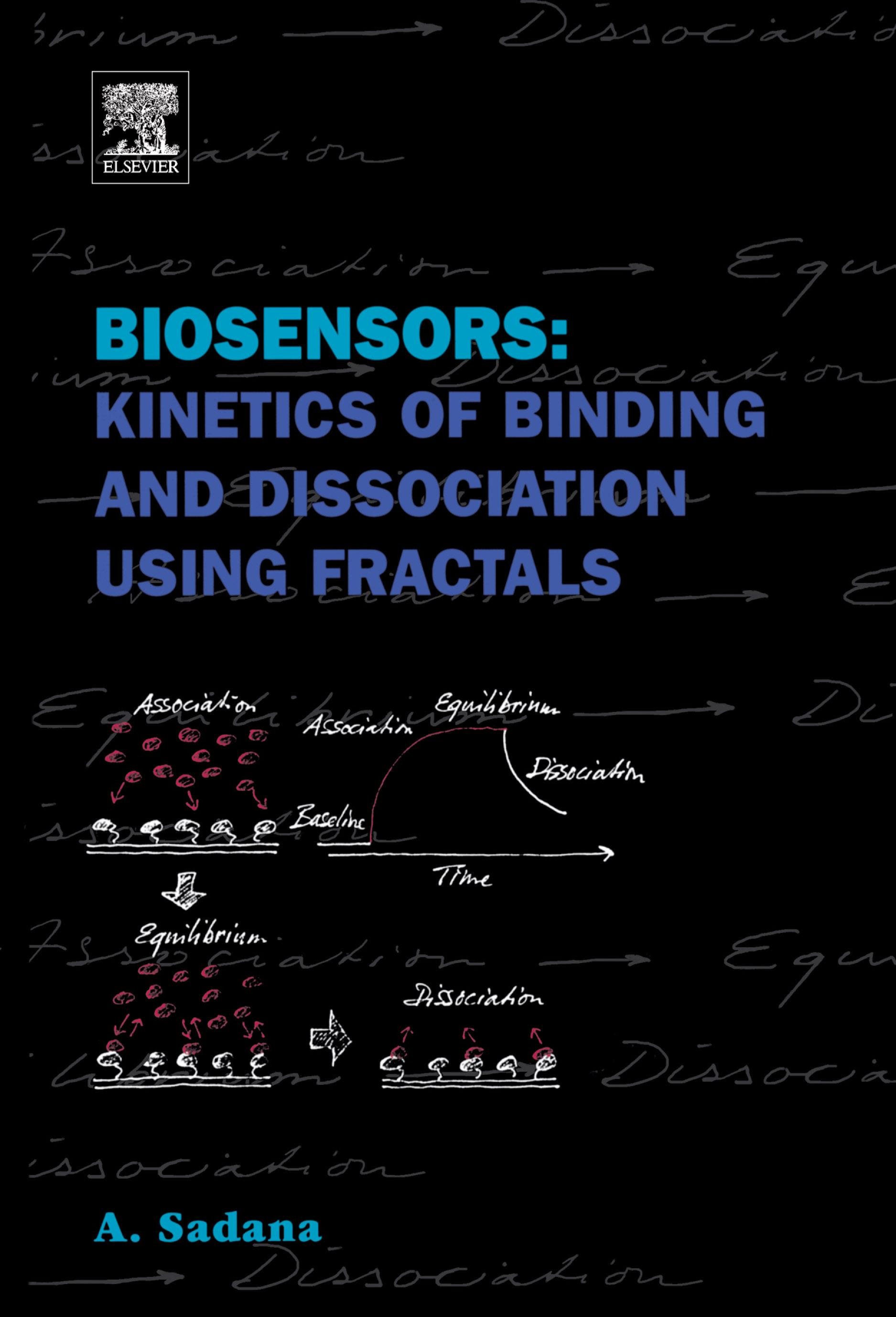 Biosensors: Kinetics of Binding and Dissociation Using Fractals: Kinetics of Binding and Dissociation Using Fractals