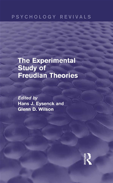 The Experimental Study of Freudian Theories (Psychology Revivals)
