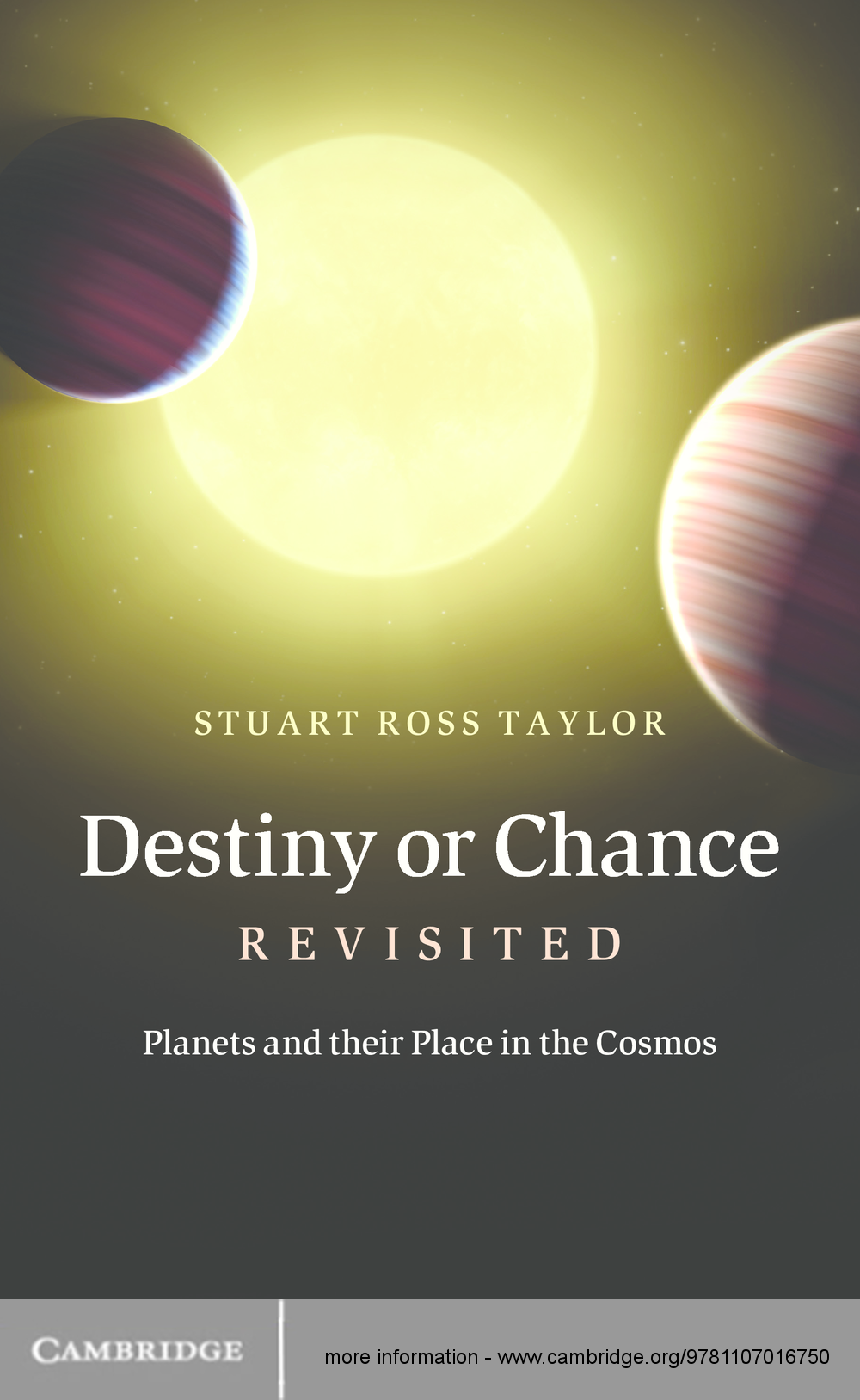 Destiny or Chance Revisited Planets and their Place in the Cosmos