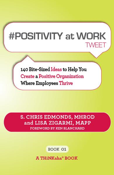 #POSITIVITY AT WORK tweet Book01