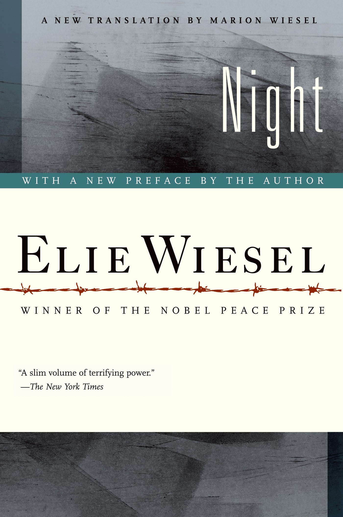 Night By: Elie Wiesel,Marion Wiesel