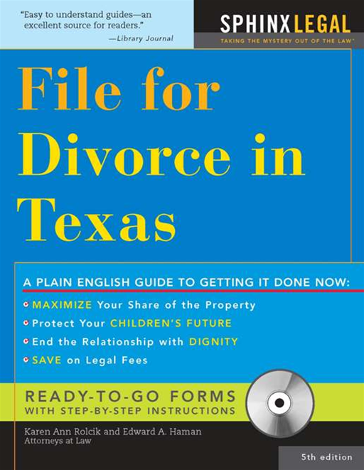 File for Divorce in Texas