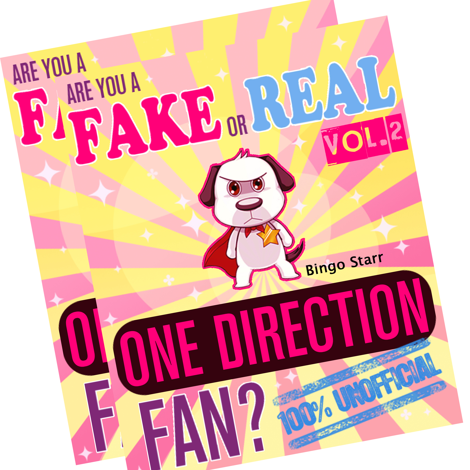 Are You a Fake or Real One Direction Fan? Bundle - Volume 1,2 - The 100% Unofficial Quiz and Facts Trivia Travel Set Game
