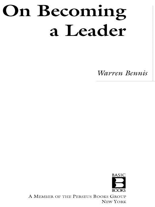 download on becoming a <b>leader</b> book