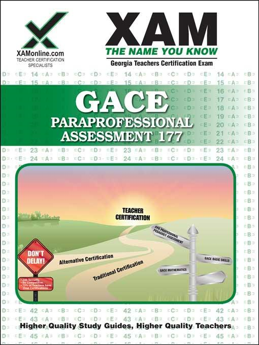 Sharon Wynne - GACE Paraprofessional Assessment 177
