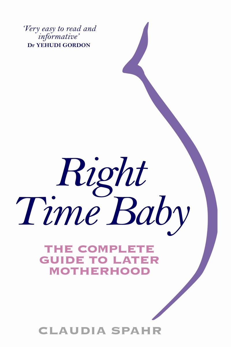 Right Time Baby By: Claudia Spahr