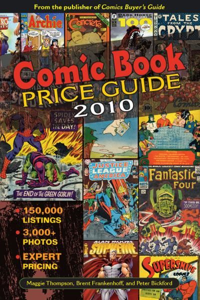 Comic Book Price Guide By: Brent Frankenhoff