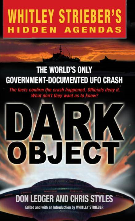 Dark Object By: Chris Styles,Don Ledger