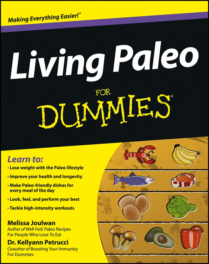 Book Cover: Living Paleo For Dummies