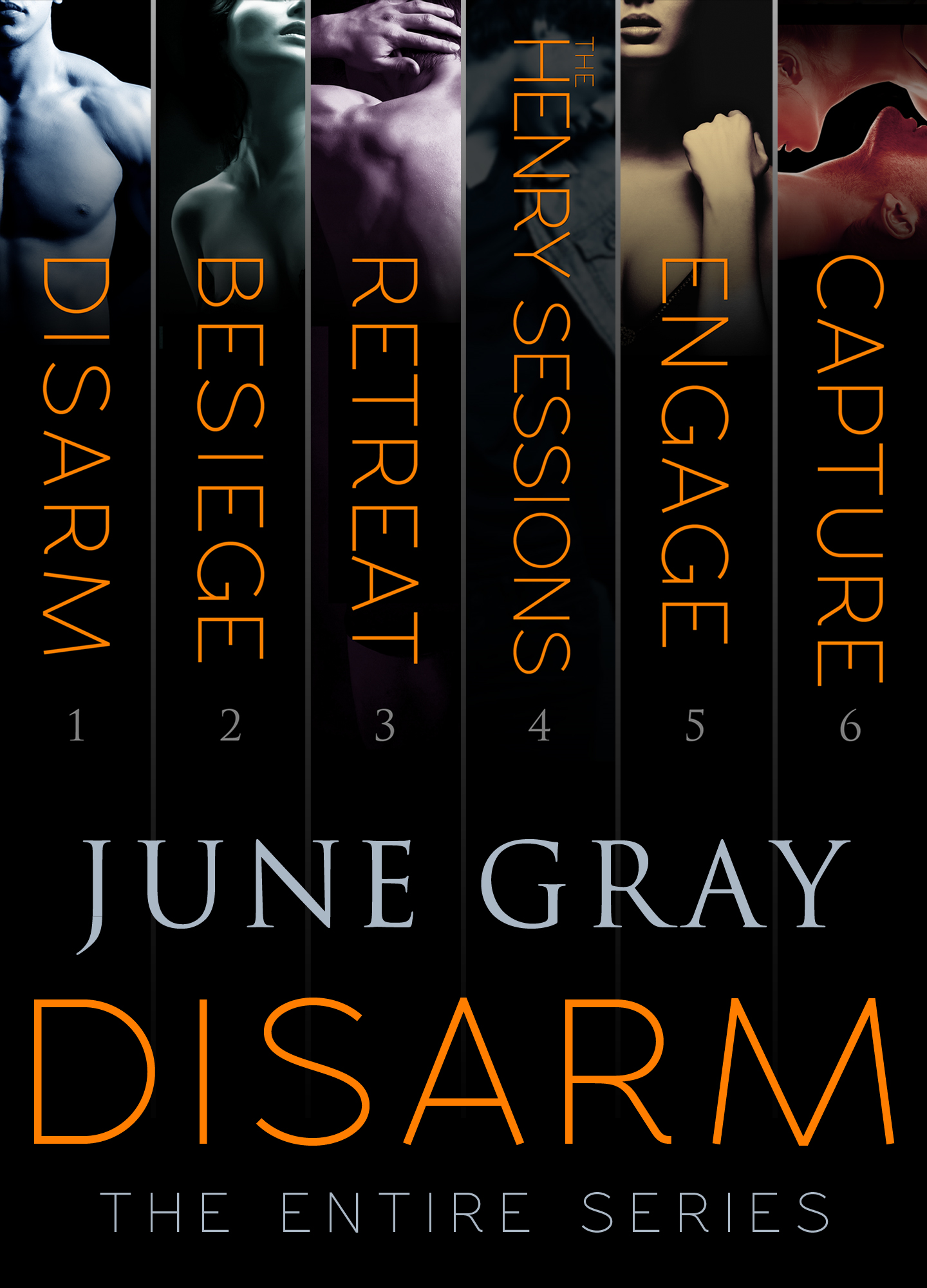The DISARM Series Boxed Set By: June Gray
