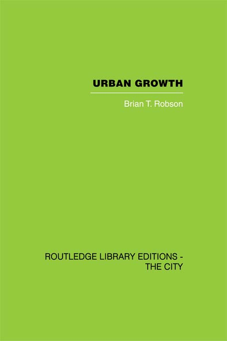 Urban Growth An Approach