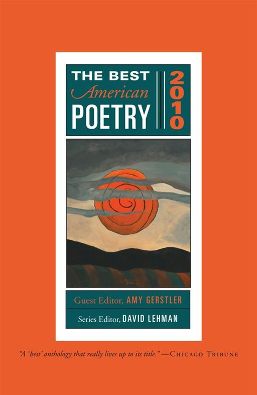 The Best American Poetry 2010 By: