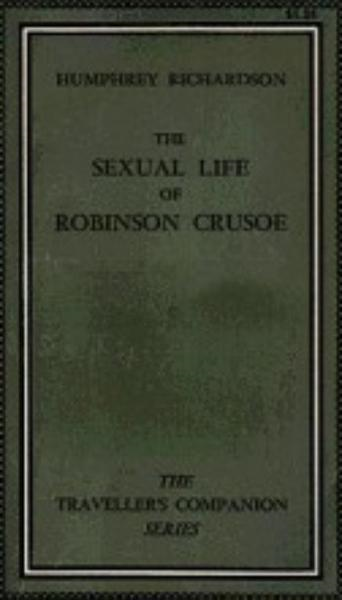 The Sexual Life Of Robinson Crusoe