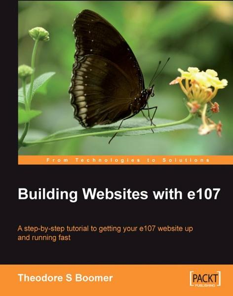 download building websites with e107 book