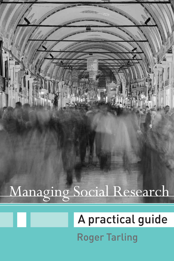 Managing Social Research A Practical Guide