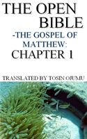 online magazine -  The Open Bible: The Gospel of Matthew: Chapter 1