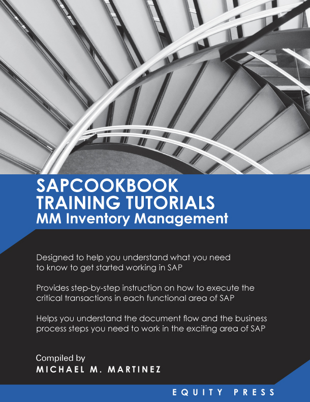 SAPCOOKBOOK Training Tutorials: SAP MM Inventory Management