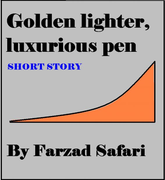 Golden Lighter, Luxurious Pen