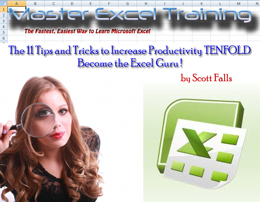 Become the Excel Guru ! - 11 Tips and Tricks to Increase Productivity TENFOLD