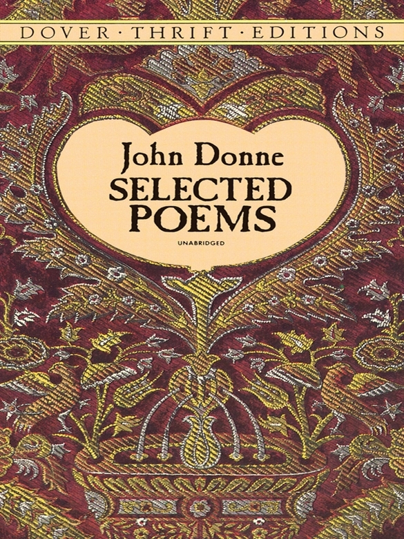 Selected Poems By: John Donne