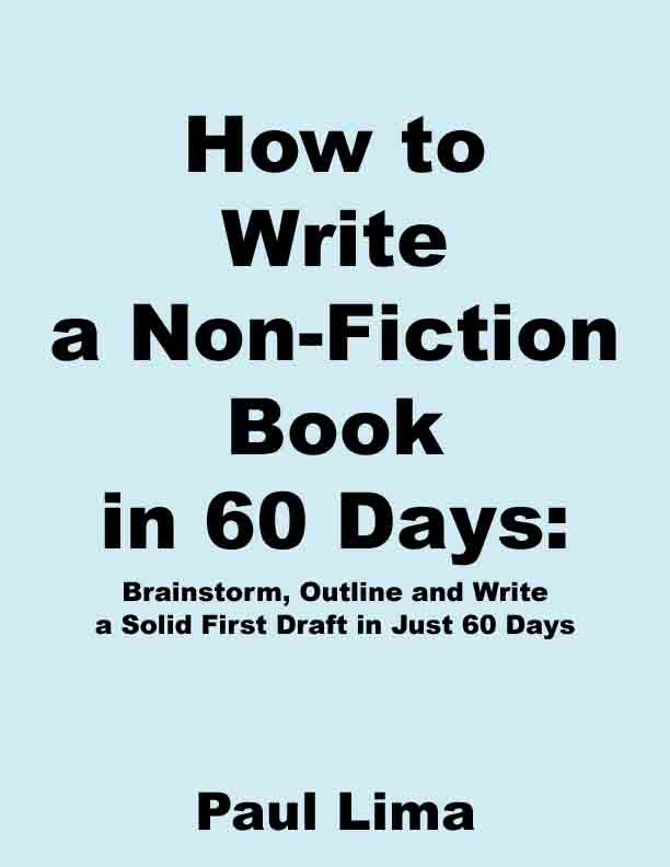 How to Write a Non-fiction Book in 60 Days
