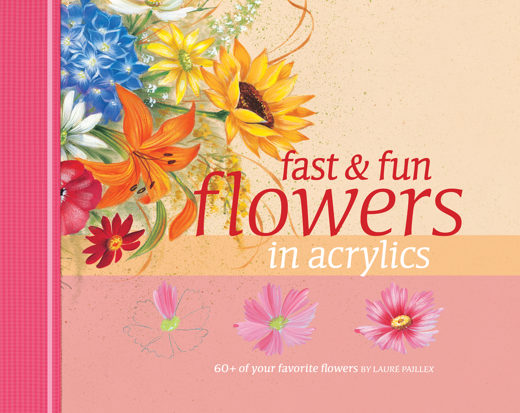 Fast & Fun Flowers in Acrylics