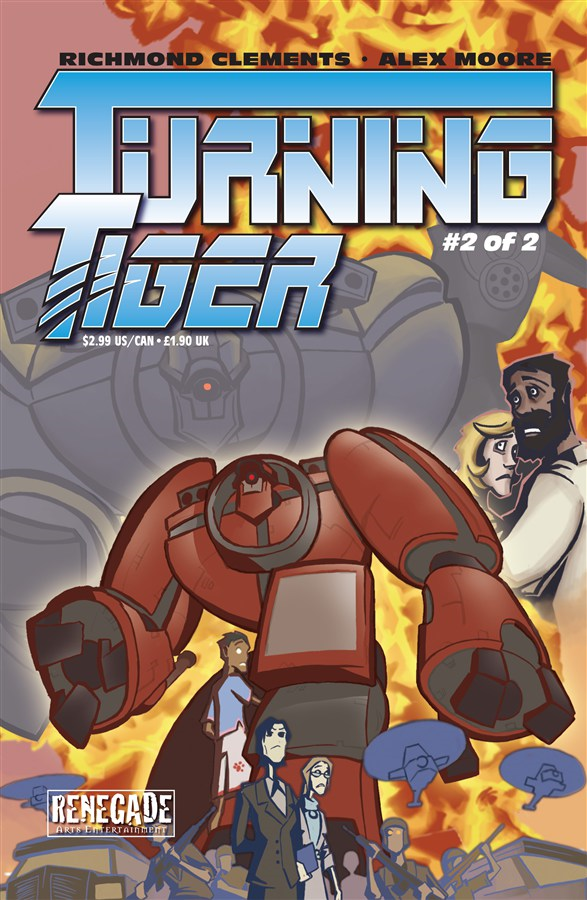 Turning Tiger #2