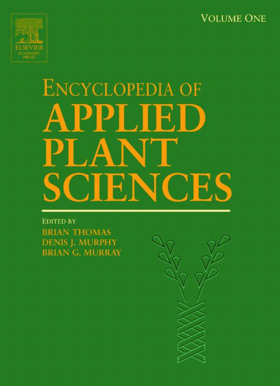 Encyclopedia of Applied Plant Sciences, Three-Volume Set