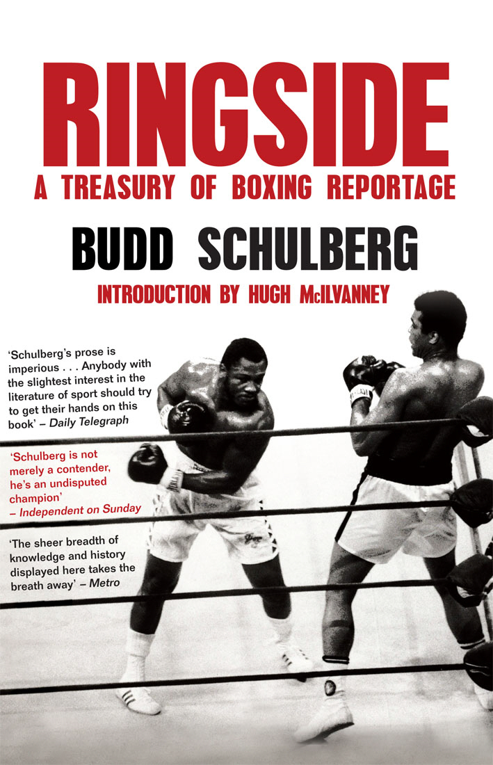 Ringside A Treasury of Boxing Reportage