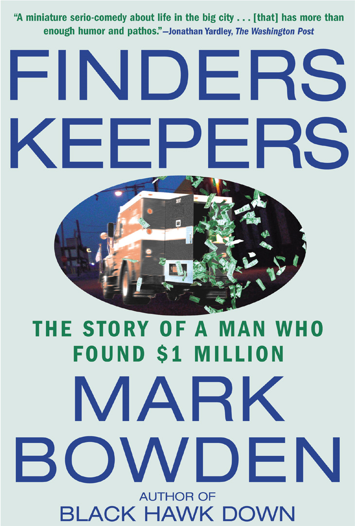 Finders Keepers By: Mark Bowden