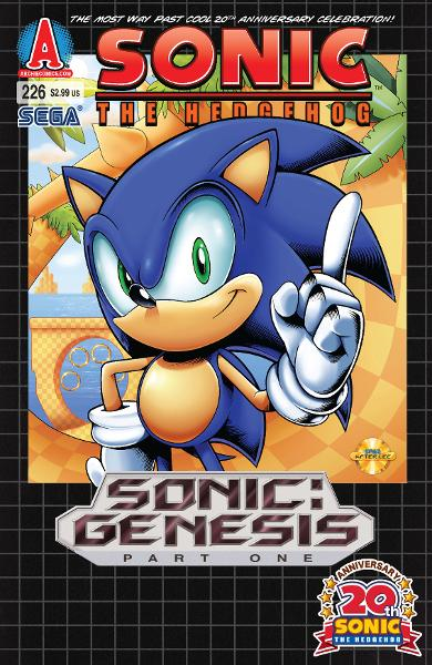 "Sonic #226 By: Ian Flynn, Patrick ""SPAZ"" Spaziante, Tracy Yardley!, Terry Austin, John Workman, Matt Herms"