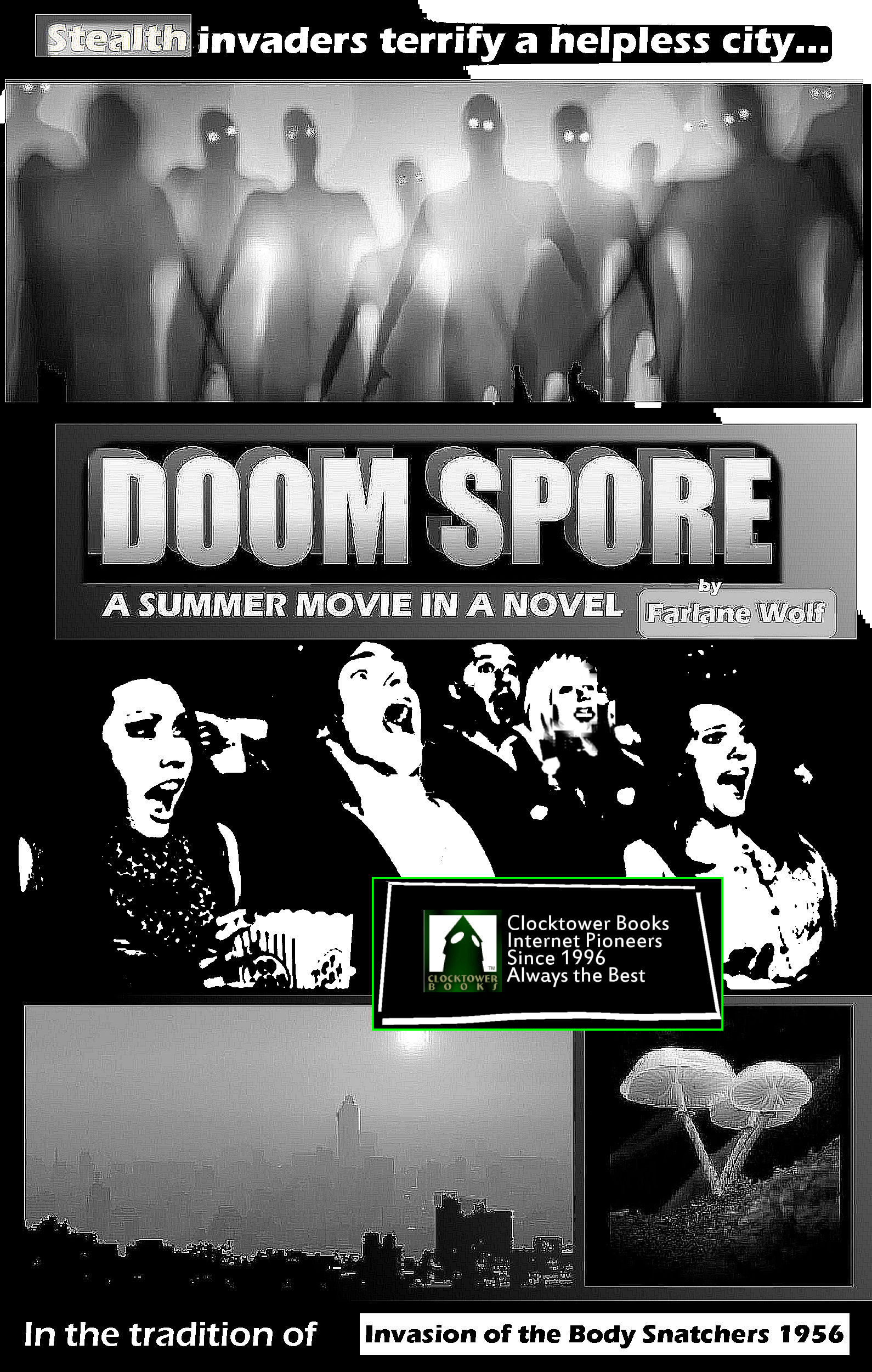 Doom Spore: A Summer Movie in a Novel