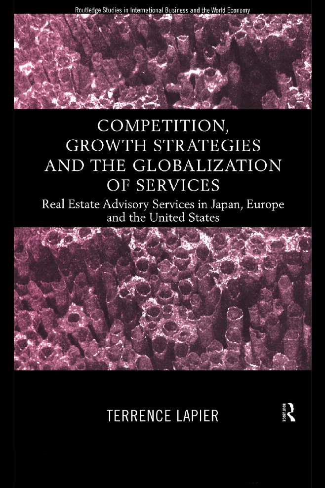 Competition, Growth Strategies and the Globalization of Services