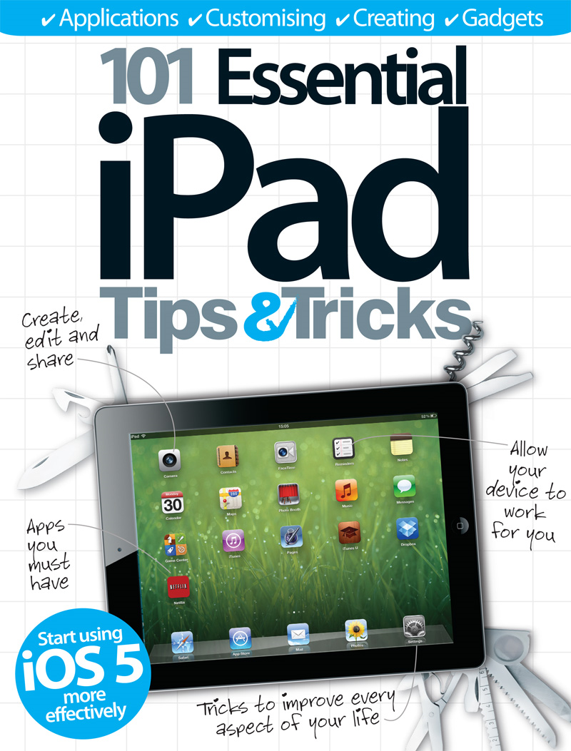 101 Essential iPad Tips & Tricks By: Imagine Publishing