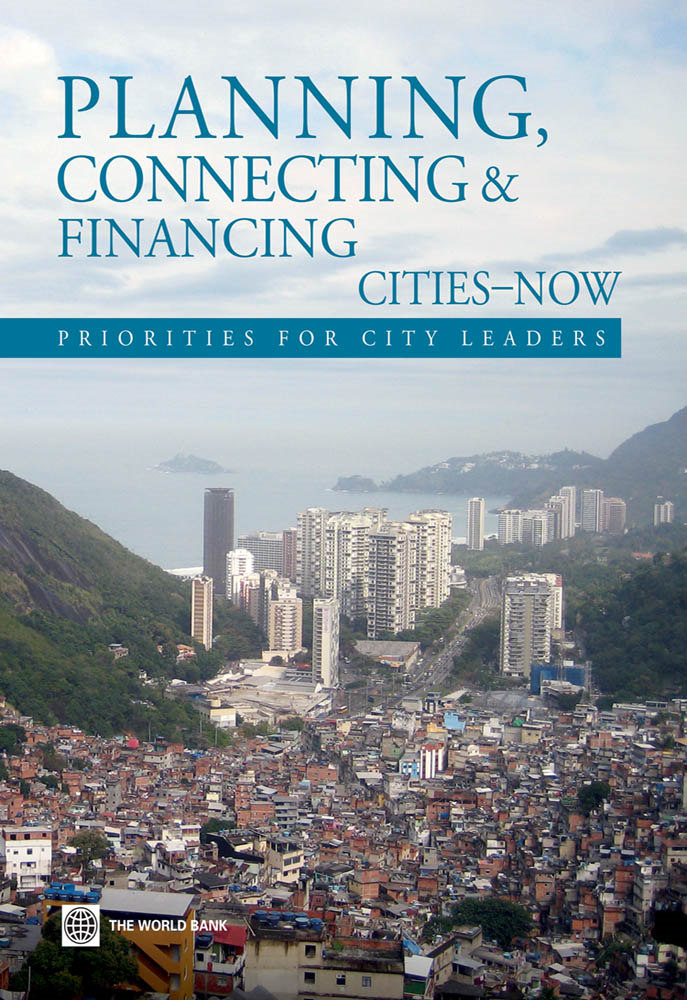 Planning, Connecting, and Financing Cities — Now