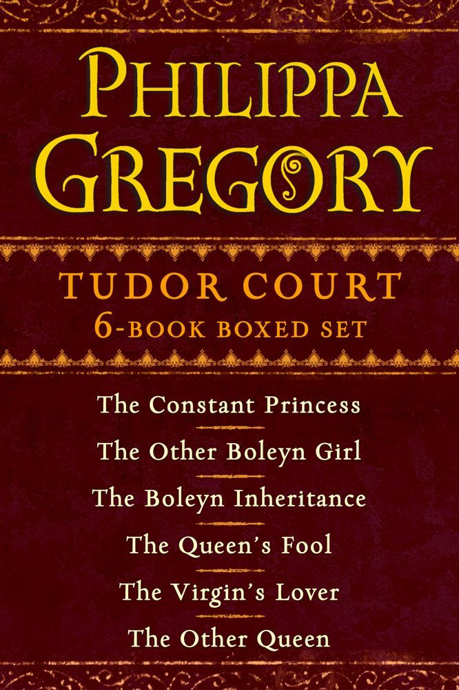 Philippa Gregory's Tudor Court 6-Book Boxed Set