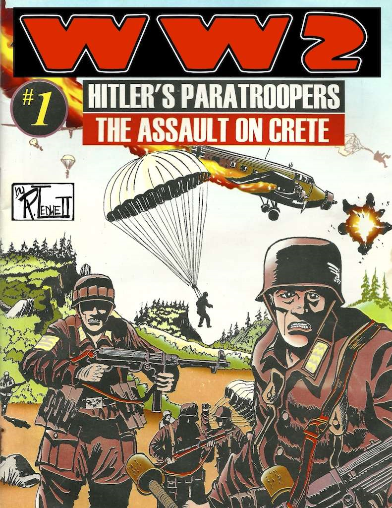 World War 2 Hitler's paratroopers the Assault on Crete
