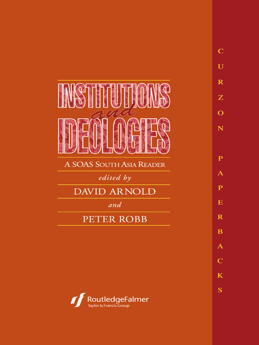 Institutions and Ideologies