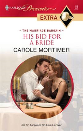 His Bid for a Bride By: Carole Mortimer