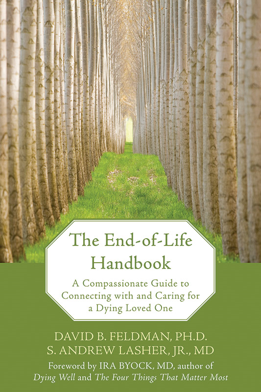 The End-of-Life Handbook By: David Feldman,S. Andrew Lasher, MD