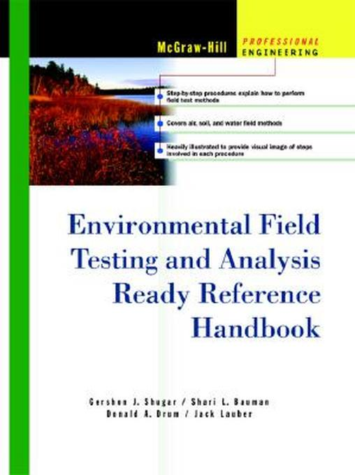 Environmental Field Testing and Analysis Ready Reference Handbook