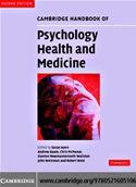 download Cambridge Handbook of Psychology, Health and Medicine book