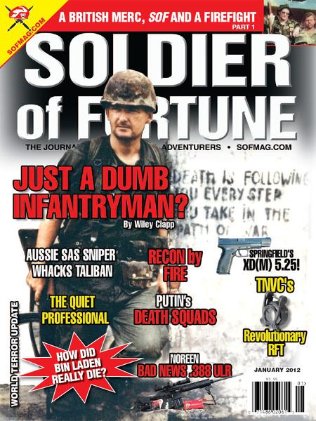 Soldier of Fortune, January 2012
