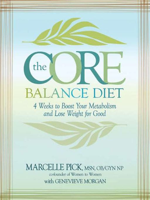 The Core Balance Diet By: Marcelle Pick